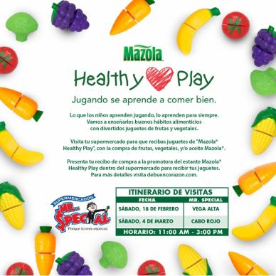 Mazola Healthy Play