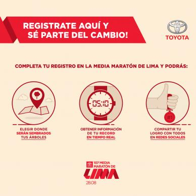 Toyota run for the planet